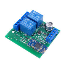 RCmall 2 Channel Relay Module Bluetooth 4.1 BLE for Android Phone IOT