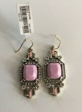 Lulu Frost for J.Crew CARNIVAL EARRINGS ~*B3566*~Pink Red~*~ Sold Out ~*~ NWT