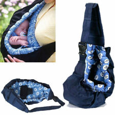 Newborn Infant Baby Toddler Cradle Rider Pouch Ring Sling Carrier Wrap Bag NEW B