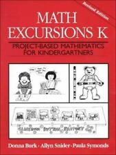 Math Excursions K: Project-Based Mathematics For Kindergartners Math Excursions