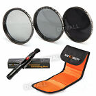 72mm Neutral Density Lens Filter ND2 ND4 ND8 + Pen for Canon 15-85 18-200 28-135