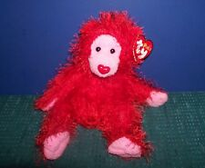 Ty Punkies Red Gorilla - Flame with Hang Tag - Great Valentines Gift