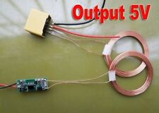 5V-12V Wireless Charging Module Power Supply Module Coil DIY TX + RX