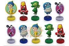 Inside Out CAKE TOPPER 10pc Birthday Cake Topper Figurines Toy Set USA