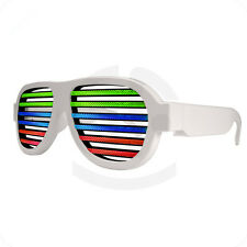 LED EL Wire Glasses Voice Musical Control Active Party USB Charger For Xmas