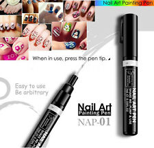 16 Colors  Delicate Beauty Nail Art  Pen Polish DIY Design Manicure Tool Hot