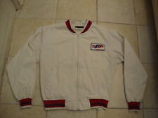 VINTAGE USA Track And Field Olympics White Zip Up swingster Jacket M