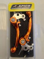 KTM    SX85    SX 85    2013   FLEXI FLEXIBLE LEVER LEVERS SET ORANGE