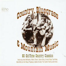 Country, Bluegrass and Mountain Music New CD