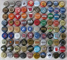 90 DIFFERENT MIXED MOSTLY U.S. MICRO CRAFT PLASTIC BEER CAPS LOT #1