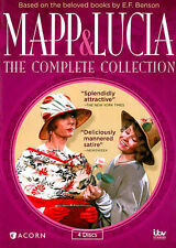 DVD Mapp and Lucia The Complete Collection 4 Discs Region 1 British Comedy