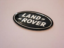 LAND ROVER STEERING WHEEL BADGE DISCOVERY FREELANDER BLACK EMBLEM