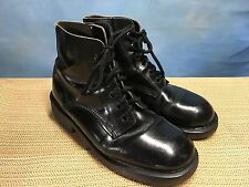 Mens DR. MARTENS MEN'S MADE IN ENGLAND BOOTS BLACK LEATHER 10/11 punk