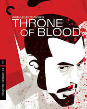 THRONE OF BLOOD (BLU-RAY/DVD COMBO/1957/2 DISC) rare and OOP
