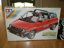 HONDA CITY CABRIOLET, SPORT CAR, TAMIYA Plastic Model Car Kit ,Scale 1/24