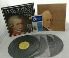 Mozart, Bohm: Nine Great Symphonies LP Box Set with Libretto - 2864 190