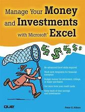 Manage Your Money and Investments with Microsoft Excel-ExLibrary