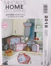 KITCHEN APPLIANCE COVERS & ACCESSORIES McCalls Pattern 2018 NEW