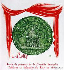 Yt 2106 A JETON LA COMEDIE FRANCAISE    FRANCE  FDC  ENVELOPPE PREMIER JOUR