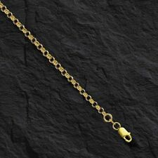 """14k Yellow Gold Round Cable ROLO Link Pendant Chain/Necklace 18"""" 2.3mm 2.8 grams"""