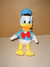 """Disney DONALD DUCK in BLUE SAILOR OUTFIT  Plush Stuffed Animal  11"""" tall"""