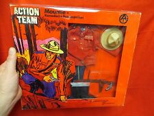 JOEZETA 1964 VINTAGE GI JOE : 1970 ACTION TEAM MOUNTIE SEALED IN ORIGINAL BOX