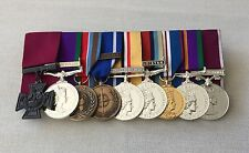 Victoria Cross, GSM, Bosnia, IFOR, Iraq, Afghan, Jubilee, ACSM, LSGC Medals
