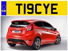 T19 CYE TRACY TRACYS TRACEY TRACEYS TRACE TRACES TRAYS PRIVATE NUMBER PLATE FORD