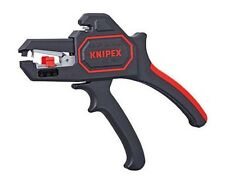 Knipex Tools 1262180 Automatic Insulation Wire Stripper 24 to 10 AWG 7-1/4""