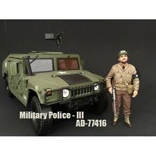 WWII MILITARY POLICE FIGURE III FOR 1:18 SCALE MODELS BY AMERICAN DIORAMA 77416