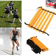 Hot 8m Football Running Speed Ladder Agility Soccer Training Equipment Sport Fit