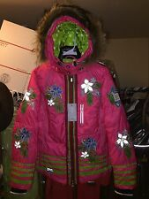 NEW SMALL MEDIUM FUR BOGNER WOMENS SKI SNOWBOARD JACKET COAT SNOW WINTER WARM