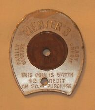 RARE Menters advertising Trade Token and Lucky Penny Encased Coin 49 Wheat Penny