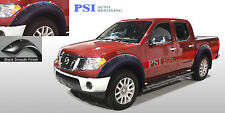 BLACK PAINTABLE Pop-Out Fender Flares 05-14 Fits Nissan Frontier Crew Cab 59.5""
