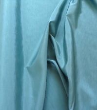 "Fab Jade Sea Green Poly Shantung Dupion Fabric - 112cm or 45"" wide - Per Metre"
