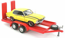 DIE-CAST CAR TRAILER 1:32 SCALE OZLEGENDS RED FOR HOLDEN - BRAND NEW SEALED