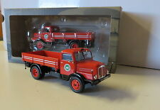 Oltimer LKW   DDR 1952 Horch H3A in rot 1/43