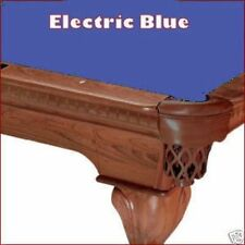8' Oversized Electric Blue ProLine Classic TEFLON Billiard Pool Table Cloth Felt