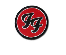 Foo Fighters Classic Design - Embroidered Patch with Hook & Loop Back - FOO