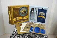 Metro Books USS Constitution Create and Display Ship In A Bottle Kit