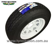 "New 14"" Sunraysia Holden HT Wheel Tyre 185 Light Truck 185R14C Trailer Caravan"
