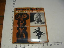Vintage ART book--JACQUES LIPCHITZ-sketches in Bronze 1969 ex library