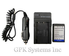 Olympus PEN E-PL1 EPL1 E-PL3 EPL3 Digital SLR Camera BLS-1 BLS1Battery + Charger