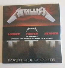 Metallica 1986 Master Of Puppets Remastered 180g 45 RPM Double Vinyl