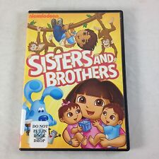 Nick Jr Sisters & Brothers DVD Dora The Explorer Go Diego Blues Clues Wonder Pet