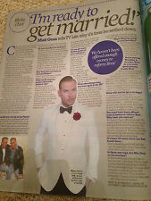 Matt Goss interview BROS UK 1 DAY ISSUE JUNE 2016