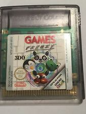 ORIGINAL NINTENDO GAMEBOY COLOR GBC GAME CARTRIDGE ONLY GAMES FRENZY By 3DO