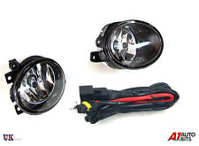 VW T5 TRANSPORTER 2009 ONWARDS FOG LIGHT LAMPS PAIR RIGHT + LEFT & WIRING KIT