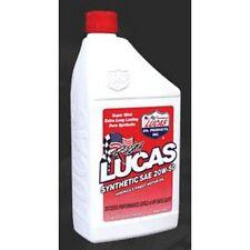 Lucas 10054 Motor Oil Synthetic 20W50 Quart, 6-Pack