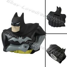 Cartoon BATMAN 10cm Coin Piggy Money Bank Figure